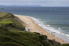 Spiaggia di Whiterocks Fotografia Stock Libera da Diritti