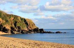 Spiaggia di Wintwr Fotografia Stock