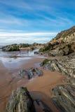 Spiaggia di Woolacombe Fotografia Stock