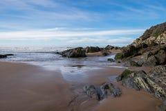 Spiaggia di Woolacombe Fotografia Stock Libera da Diritti