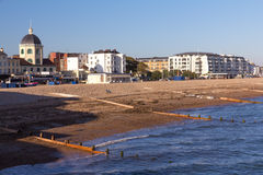 Spiaggia di Worthing Immagine Stock Libera da Diritti