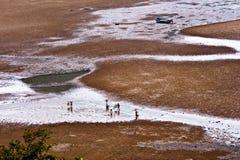 Spiaggia di Xiapu di Fujian, Cina. Fotografia Stock Libera da Diritti