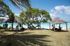 Spiaggia di Yejele: Rilassamento tropicale Fotografia Stock Libera da Diritti