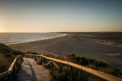 Spiaggia di Zahora Fotografia Stock Libera da Diritti