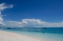 Spiaggia di Zanzibar Fotografia Stock