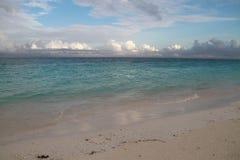 Spiaggia di Zanzibar a partire dal primo mattino Immagine Stock