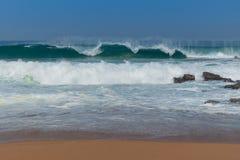 Spiaggia di Zimbali Fotografia Stock Libera da Diritti