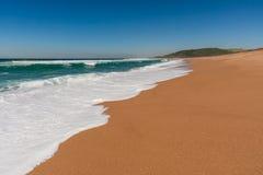 Spiaggia di Zimbali Immagini Stock