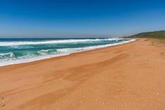 Spiaggia di Zimbali Immagini Stock Libere da Diritti