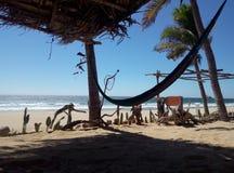 Spiaggia di Zipolite Fotografia Stock