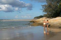 Spiaggia domestica Fotografie Stock