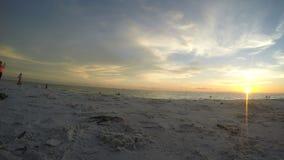 Spiaggia e costruzioni della Florida Immagini Stock Libere da Diritti