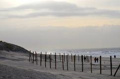 Spiaggia e dune Fotografia Stock