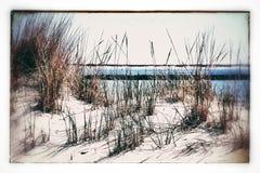 Spiaggia e dune Fotografie Stock Libere da Diritti
