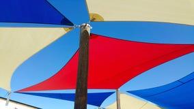 Spiaggia e festa Fotografia Stock