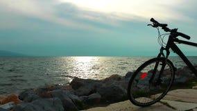 Spiaggia e la bicicletta
