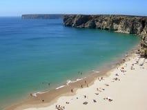 Spiaggia e linea costiera Fotografia Stock