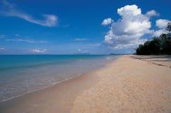 Spiaggia e mare Immagini Stock