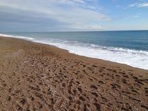 Spiaggia e mare Immagine Stock Libera da Diritti