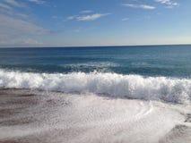 Spiaggia e mare fotografia stock