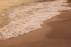 Spiaggia e mare nel paesaggio Fotografie Stock