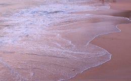 Spiaggia e mare nel paesaggio Immagine Stock