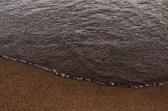 Spiaggia e sabbia Fotografie Stock Libere da Diritti