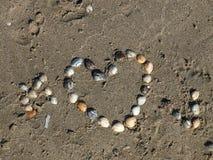 Spiaggia e seasight alla zeta aan di Wijk fotografia stock
