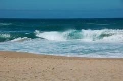 Spiaggia ed oceano Immagine Stock