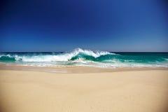 Spiaggia ed oceano Immagine Stock Libera da Diritti