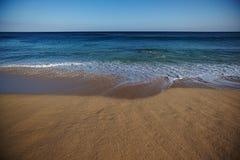 Spiaggia ed oceano Fotografie Stock Libere da Diritti