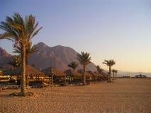 Spiaggia egiziana Fotografia Stock Libera da Diritti