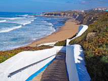 Spiaggia, Ericeira, Portogallo Immagine Stock Libera da Diritti