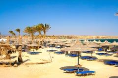 Spiaggia esotica Immagine Stock Libera da Diritti