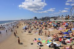 Spiaggia in estate. Fotografia Stock Libera da Diritti