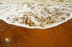 Spiaggia in estate Immagine Stock