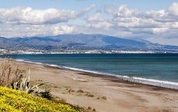 Spiaggia a Estepona Fotografie Stock