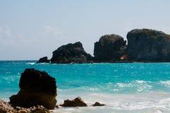 Spiaggia a ferro di cavallo della baia Immagini Stock Libere da Diritti