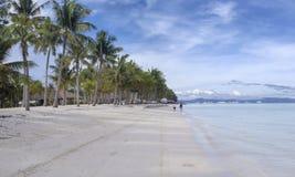 Spiaggia filippina Fotografia Stock Libera da Diritti