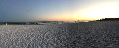 Spiaggia FL del parco di Beasley Fotografia Stock
