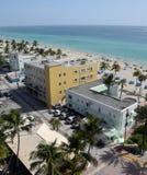 Spiaggia FL di Hollywood Fotografia Stock