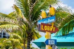 Spiaggia Florida di Hollywood Immagini Stock Libere da Diritti