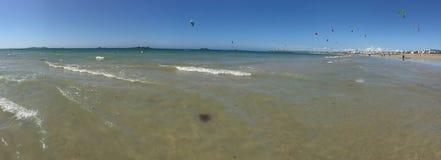 Spiaggia francese Immagine Stock
