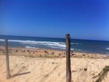 Spiaggia in Francia Fotografia Stock Libera da Diritti