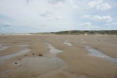 Spiaggia in Francia fotografie stock libere da diritti