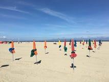 Spiaggia in Francia Immagini Stock