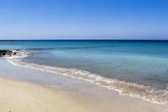 Spiaggia a Fuerteventura Immagini Stock