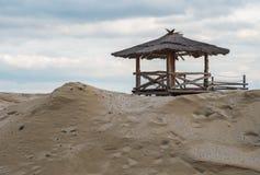 Spiaggia fuori stagione Immagine Stock