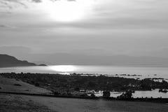 Spiaggia Galles di Criceth Immagine Stock