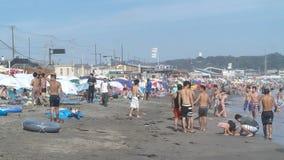 Spiaggia giapponese immagini stock